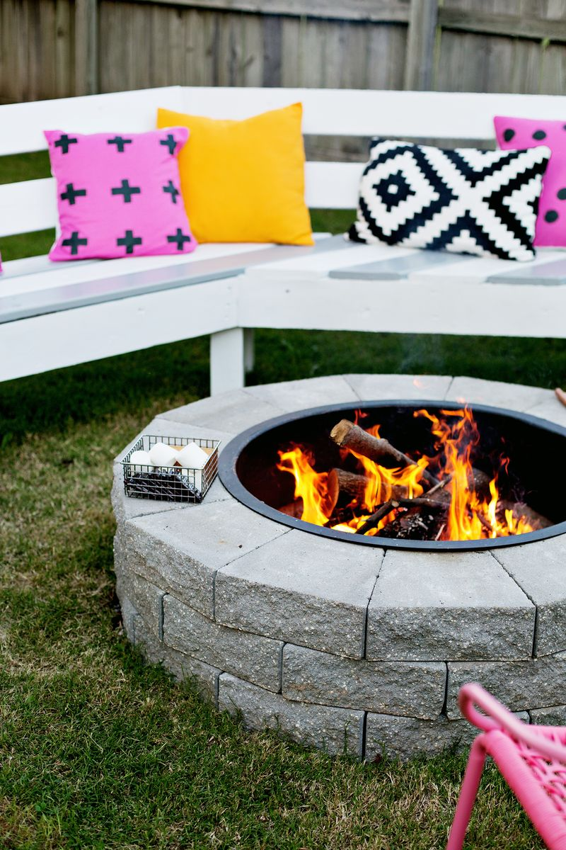 4 step fire pit
