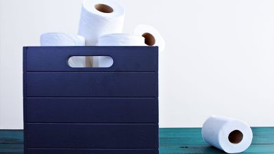 19 Creative and Clever DIY Toilet Paper Holders